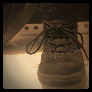Jordan black sneakers size 12C